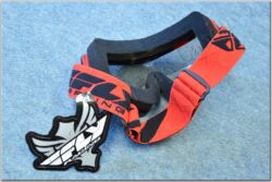 Motorcycle Goggle Zone RS - black/red ( FLY RACING )(870041)