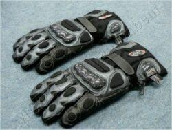 Gloves B8057 - black/silvery ( BEL /  FURIOUS )