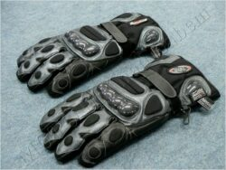 Gloves B8057 - black/silvery ( BEL /  FURIOUS )