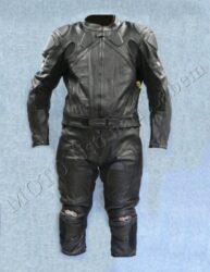 Motorcycle suit  B4046, black ( BEL )