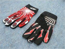 Gloves X2 - black-red ( MZone )