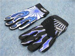 Gloves X2 - black-blue ( MZone )