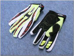 Gloves off road MX-01 - Amarillo Fluor ( SHIRO )