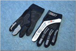 Gloves Pionner ( PILOT ) black-white