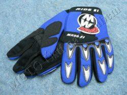 Gloves GL1 - blue ( Motowell )