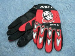 Gloves GL1 - red ( Motowell )