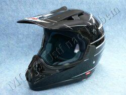 Helmet CR2 - arrow black ( Motowell ) Size XXL