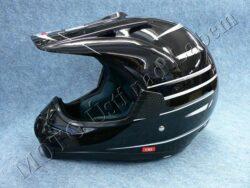 Motocross Helmet CR2 - arrow black ( Motowell )(890001M)