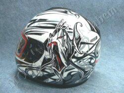 Full-face Helmet FF3 - piranha ( Motowell )(890164M)