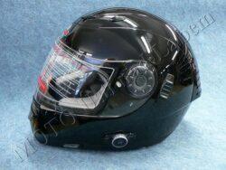 Helmet FF7 - pure black, bluetooth ( Motowell ) Size L