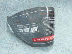 Helmet visor series CR6