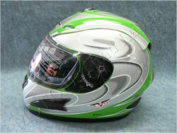 Full-face Helmet V100 - green/ BB ( CAN )