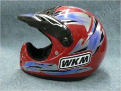 Helmet - red ( WKM ) Size L