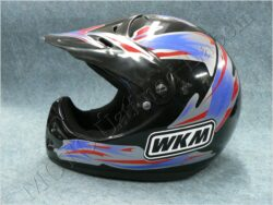 Helmet - black B/R/S ( WKM ) Size XS