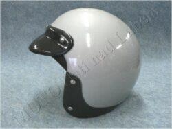 Helmet - silver ( TORNADO) Size S