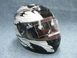 Full-face Helmet - black/grey ( no name )