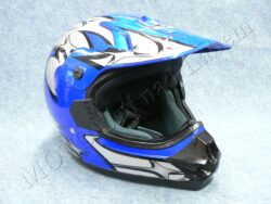 Helmet 606 - blue V ( CAN ) Size XL