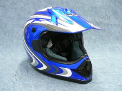 Helmet 606 - blue R ( CAN ) Size XS