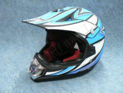 Children Helmet V310 cross - flat black ( CAN ) Size M