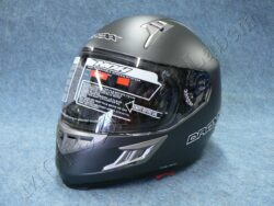 Full-face Helmet Road - Satined Titanium ( Nox Droxx)