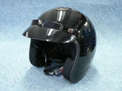 Jet Helmet JET FIBER - black ( MTR )