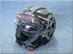 Jet Helmet - Black Heavy ( MZONE )