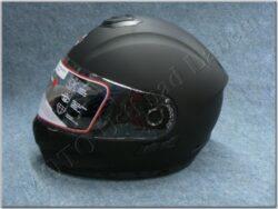 Full-face Helmet FF6G - Matt Black ( Motowell ) w/ Integral sun visor