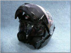 Helmet FU4G - Black ( Motowel ) Size L w/ Integral sun visor