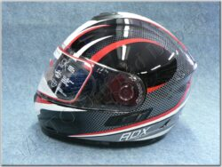 Full-face Helmet FF6G - Neat ( Motowell ) w/ Integral sun visor