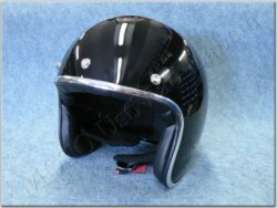 Jet Helmet Le Mans - black ( MT )
