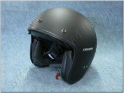 Jet Helmet Oxygen - mat black ( CASSIDA )