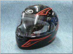 Full-face Helmet K10 - black/red ( ZED )