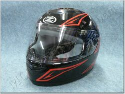 Full-face Helmet K10 - black/red ( ZED )
