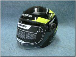 Jet Helmet Reflex - black/yellow ( CASSIDA )