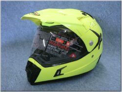 Enduro Helmet SH-311 Tourism Amarillo Fluor ( SHIRO )