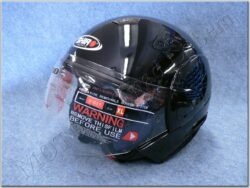 Jet Helmet SH-60 Ice Negro ( SHIRO )