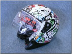 Jet Helmet SH-20 Comic Kids Blanco ( SHIRO )