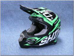 Children Cross Helmet MX-917 Thunder Verde Fluor ( SHIRO )