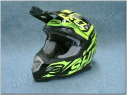 Children Cross Helmet MX-917 Thunder Amarillo Fluor ( SHIRO )