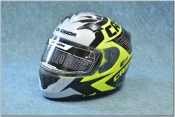 Full-face Helmet Integral 2.0 Perimetric - yellow/black/white ( CASSIDA )