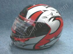 Full-face Helmet FF1 - littlestar red ( Motowell )