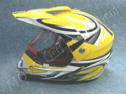 motopřilba CR6 - west yellow ( Motowell )
