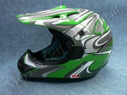 Motocross Helmet CR2 - streamline green ( Motowell )