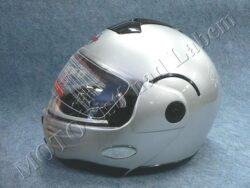 Flip-Up Helmet FU1 - silver ( Motowell )(890206M)
