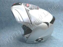 motopřilba FU3B - silver, bluetooth ( Motowell )(890220M)