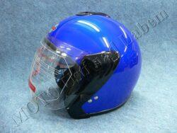 Jet Helmet OF4 - blue ( Motowell )