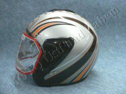 Jet Helmet OF4 - greynet ( Motowell )