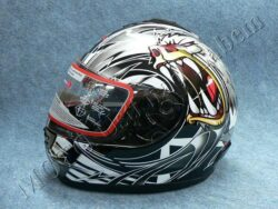 Full-face Helmet FF2 - crazy bear ( Motowell )