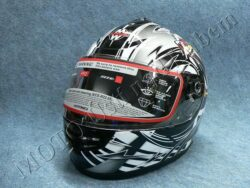 Full-face Helmet FF2 - crazy bear ( Motowell )(890121M)