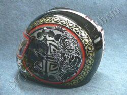 Full-face Helmet FF3 - siberian tiger ( Motowell )(890172M)